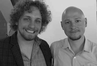 Adam Olsson och Oleg Izyumenko