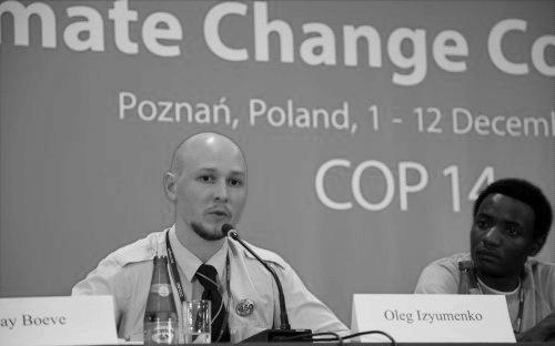 Oleg Izyumenko at COP14, Poznań