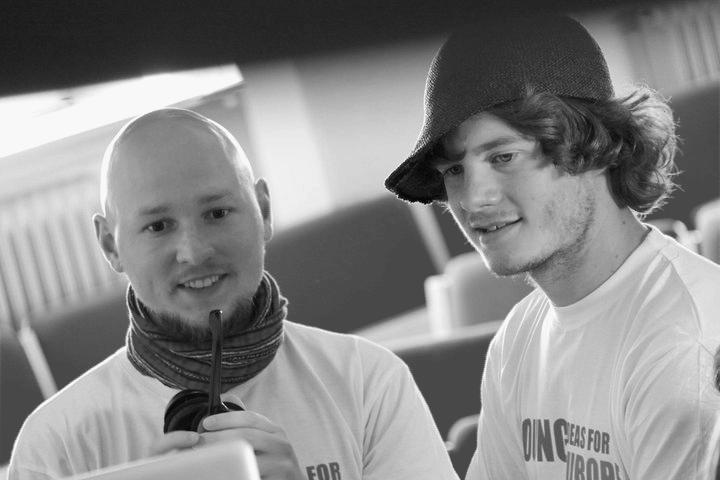 Oleg Izyumenko and Sven Heijbel