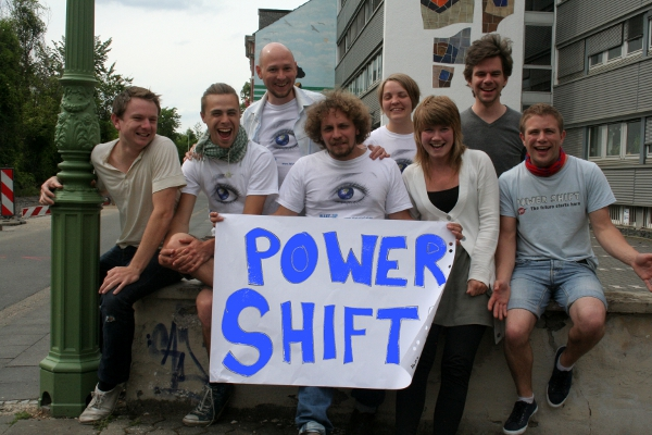 Swedish participants of the Power Shift training workshop in Bonn
