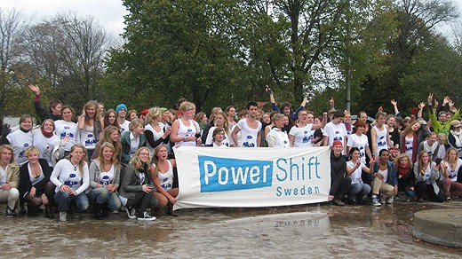 Power Shift Sweden, foto © Peter Stenberg / Sveriges Radio