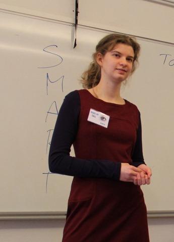 Tova Melin, vår trainee och blogginläggets författare
