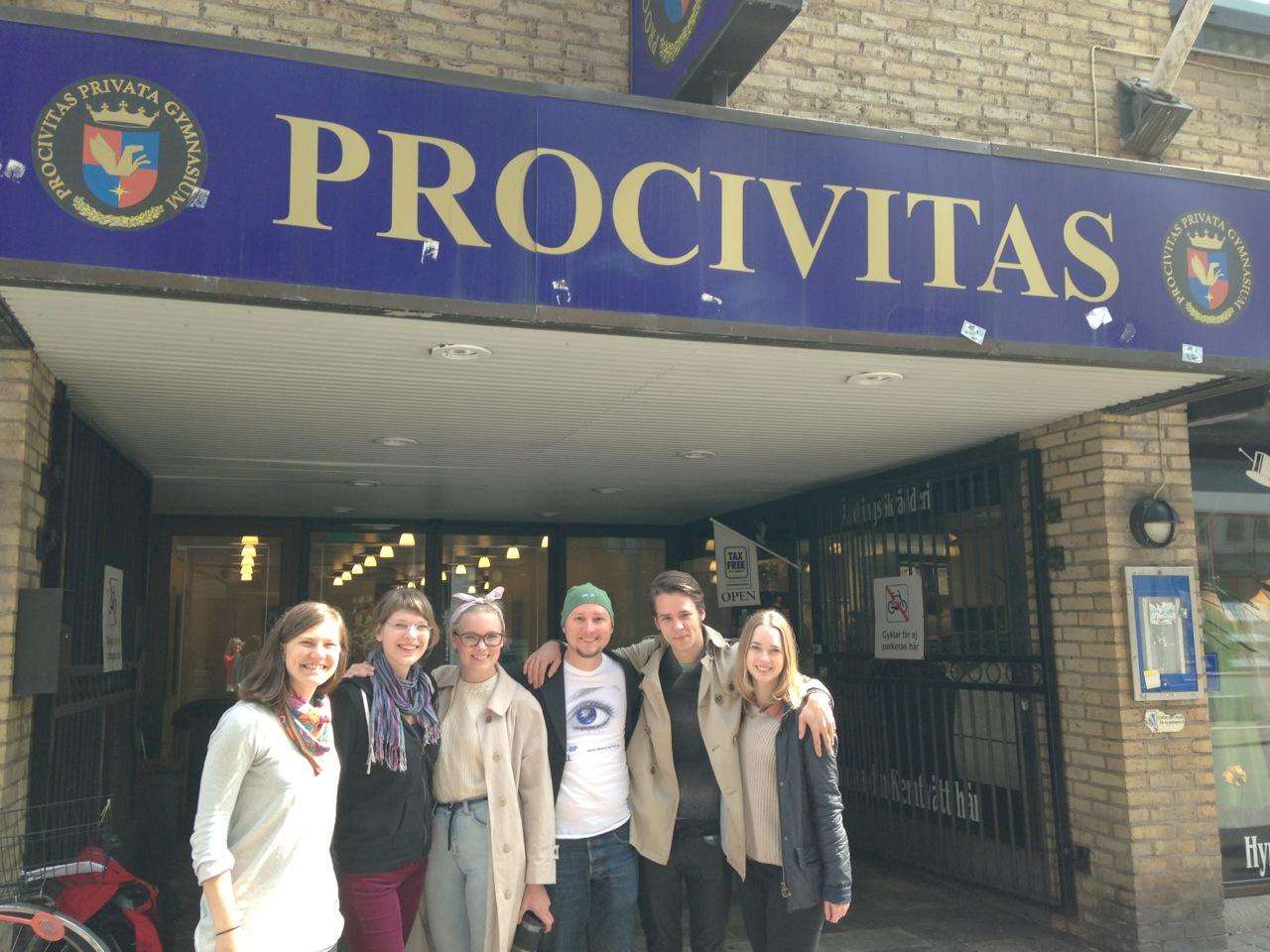 Wake-Up Call at ProCivitas Gymnasium, Helsingborg