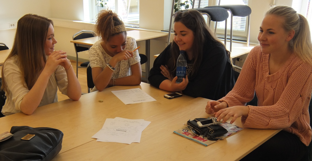 Brainstorm phase of the workshop