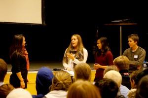 På ungdomstinget kommer elever från skolor i Västmanland på lösningar på framtidens utmaningar