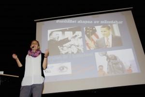Wake-Up Calls Lovisa föreläser Youth Climate Action