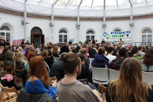Participants of the youth climate conference in Warsaw 2013